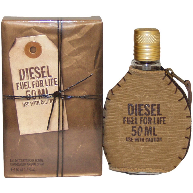 Diesel Fuel For Life Pour Homme for Men Eau de Toilette, 1.7 oz