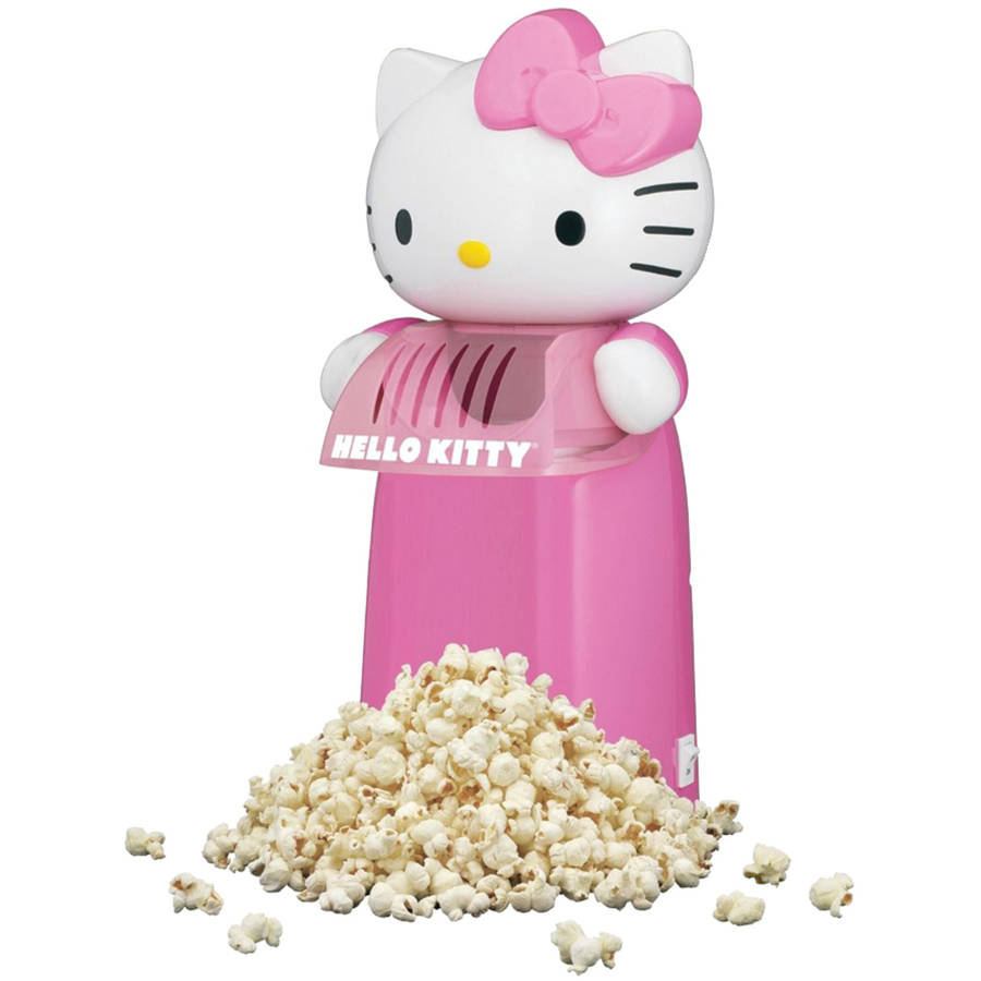 Hello Kitty Kt5235 Hello Kitty Hot Air Popcorn Maker