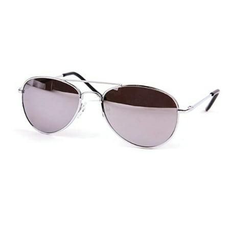 Aviator Sunglasses For Kids (Children Metal Classic Aviator Color Lens Sunglasses)