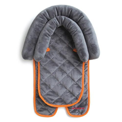 Cargador De Bebes Diono 2 en 1 infantil apoyacabezas almohadilla, gris + Diono en Veo y Compro