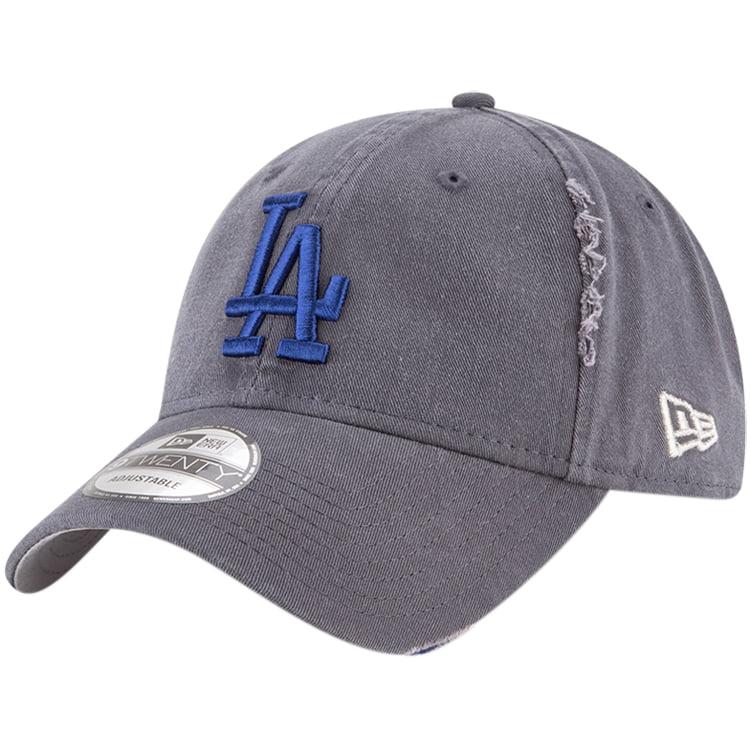 Los Angeles Dodgers New Era Rip Right 9TWENTY Adjustable Hat - Gray - OSFA