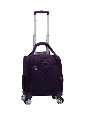Rockland Luggage Melrose Underseat Softside Carry-On Spinner