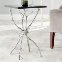 Safavieh Alexa Marble Top Gold Accent Table