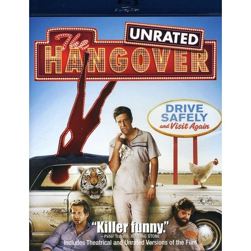 The Hangover (Rated/Unrated) (Blu-ray) (Widescreen)