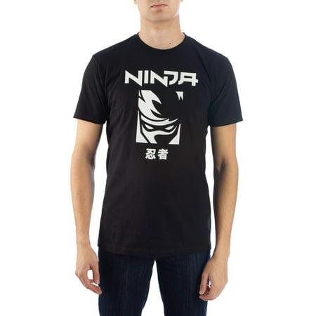 Ninja Clothing (Tyler Ninja Blevins Men's Logo Graphic Short Sleeve T-shirt, up to Size)