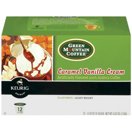 Green Mountain Coffee Caramel Vanilla Cream K Cup , 12 CT (Pack of (Green Mountain Caramel Vanilla Cream K Cups)