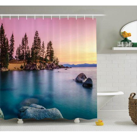 Product Nature inspired shower curtains