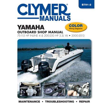 Boards Shop (Yamaha Outboard Shop Manual : 75-115 HP Inline 4 & 200-250 HP 3.3l V6 2000-2013 )