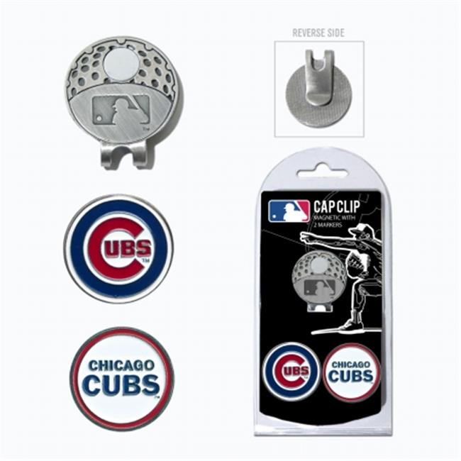 Team Golf 95447 MLB Chicago Cubs - 2 Mkr Cap Clip