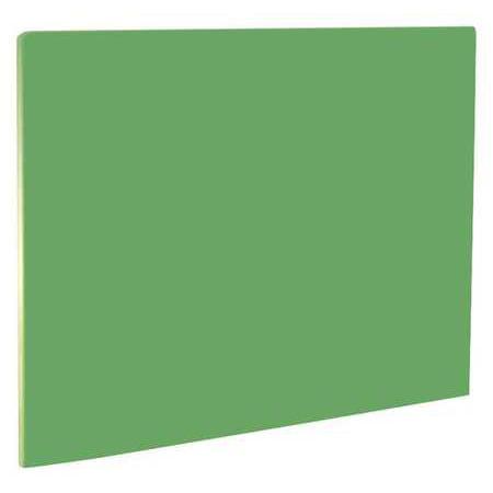 Crestware PCB1520G 20 in.L Cutting Board, Green Green Plastic Cutting Board