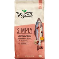 Purina Beyond Natural Limited Ingredient Dry Cat Food, Simply Salmon & Whole Brown Rice Recipe, 6 lb. Bag
