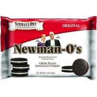 Newman's Own Organics Newman-O's Creme Filled Chocolate Cookies, 13 Oz.