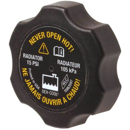 Gasket Thermocap Radiator Caps (ACDelco RC85 Cap Radiator)