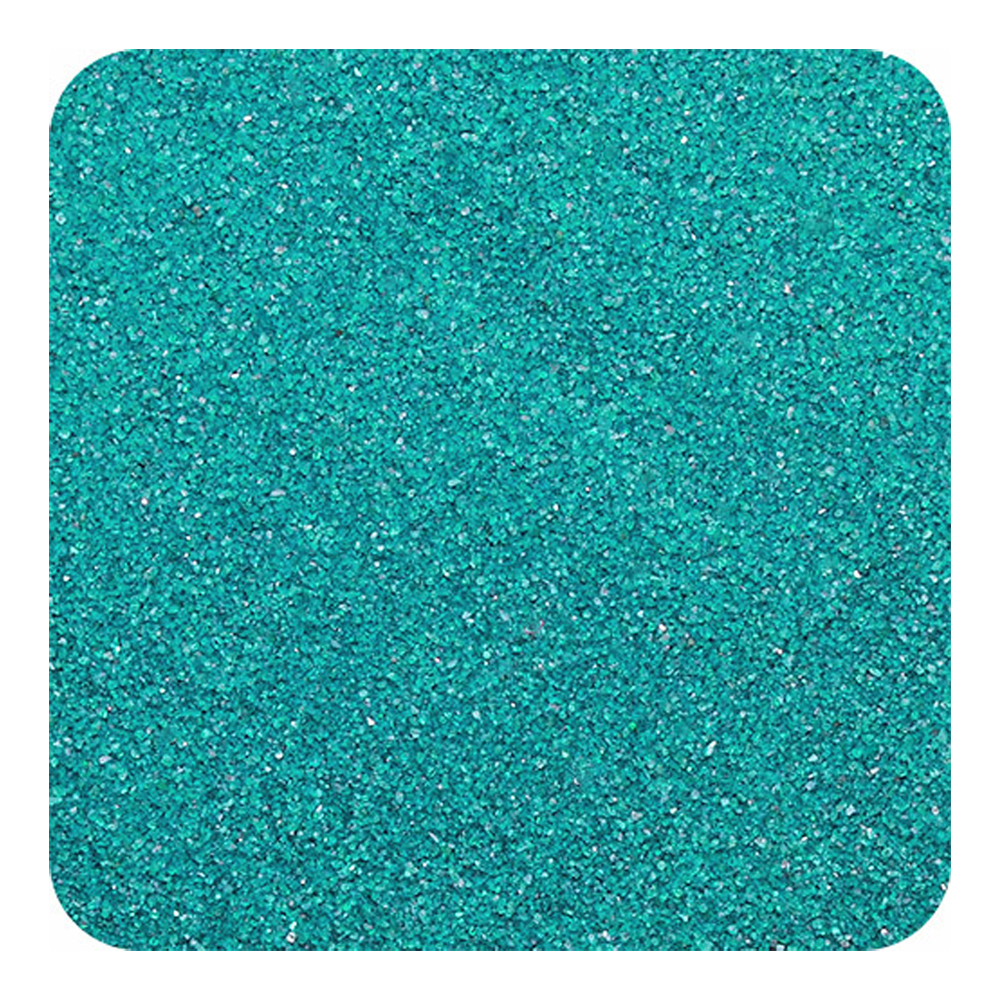 SANDTASTIK PRODUCTS INC. COL1LBBAGTEA 1 LB BAG OF TEAL SAND- 454 g