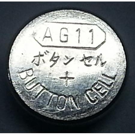 AG11 / LR721 Alkaline Button Watch Battery 1.5V - 10 Pack + 30% Off!