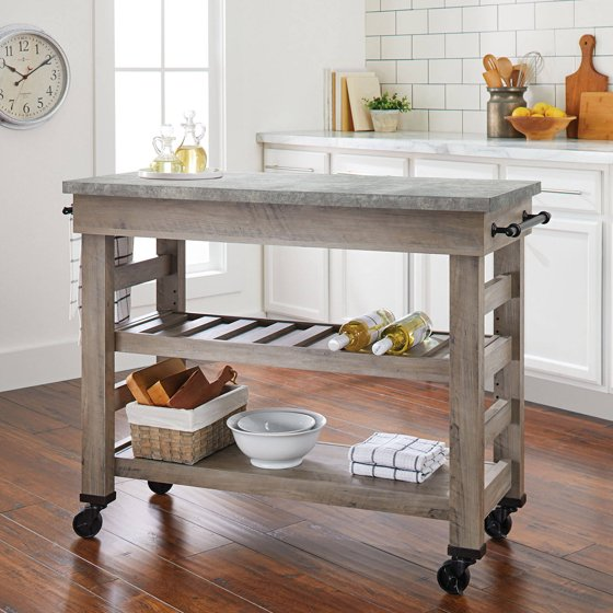 9 Standout Kitchen Islands: Better Homes And Gardens Modern Farmhouse Multi-Purpose