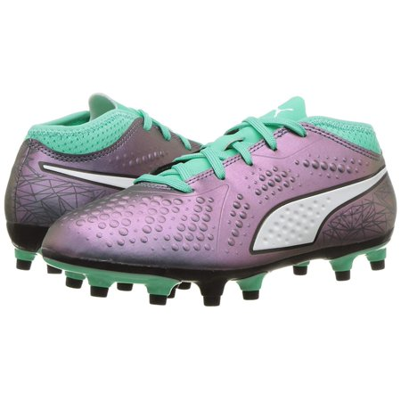 Kids Puma Girls One 4 Il Syn Fg, Jr. Low Top Lace Up Soccer Sneaker