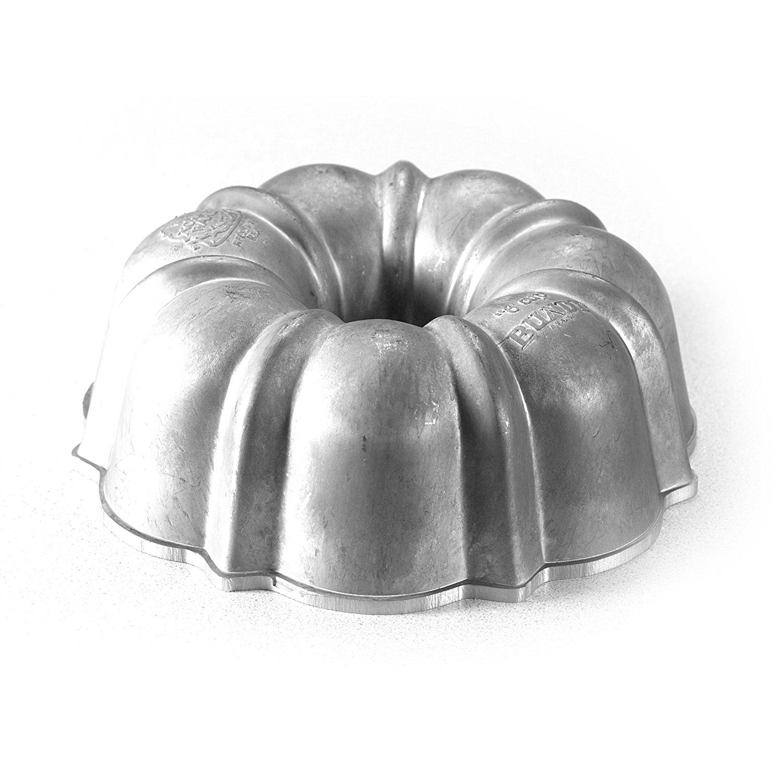 Commercial Original Bundt Pan with Premium Non-Stick Coating, 6-Cup, Cast Quarter Aluminum Cake Premium Pro... by