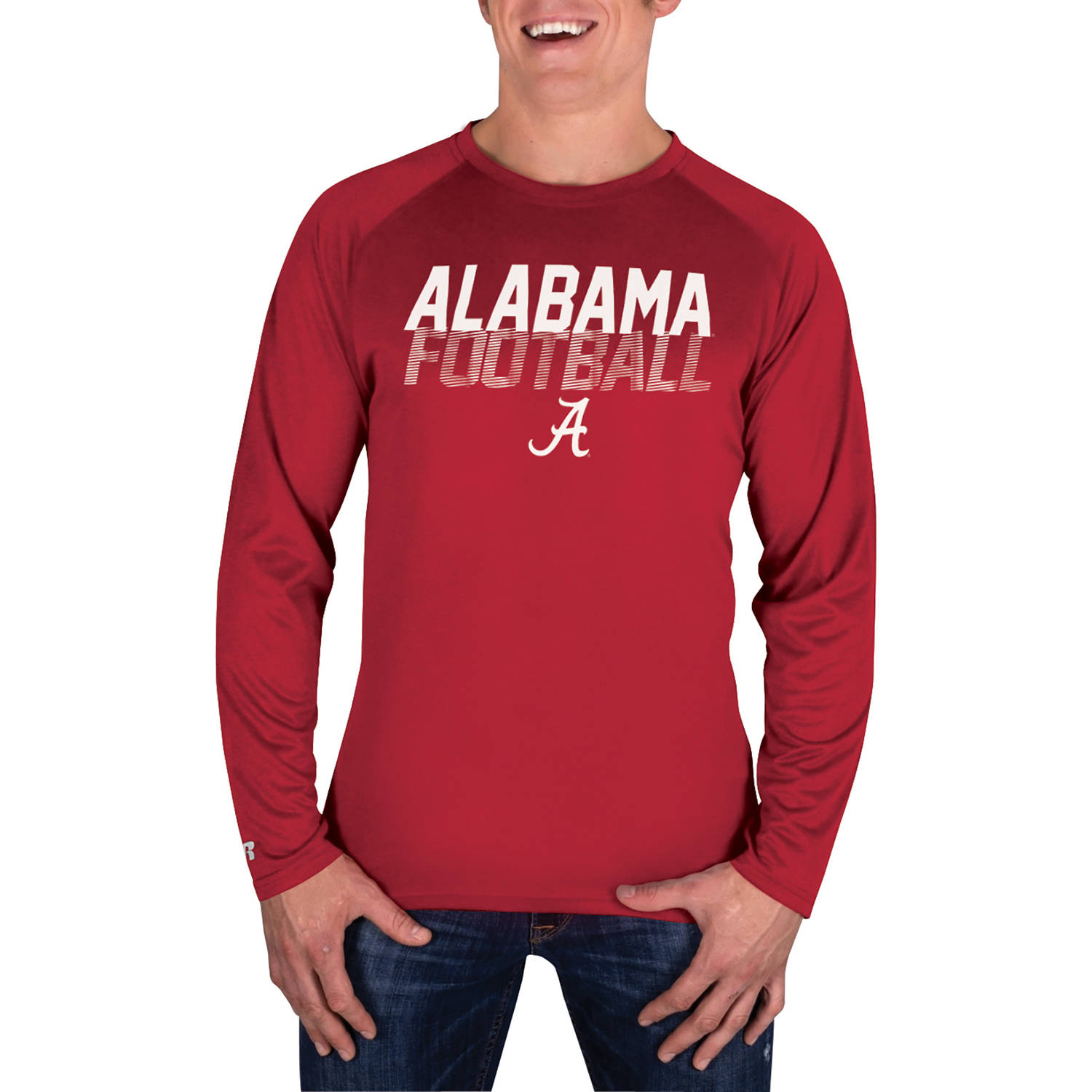 NCAA Alabama Crimson Tide Men's Long Sleeve Impact T-Shirt
