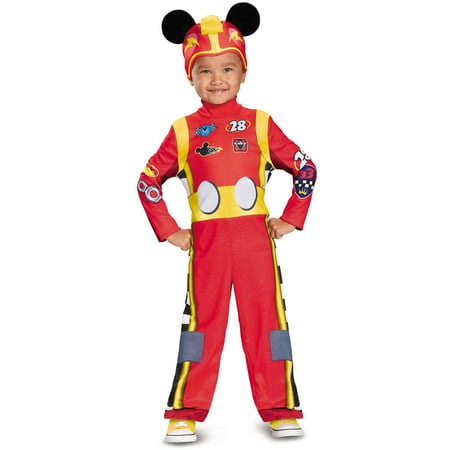 Boys Mickey Roadster Classic Toddler - Mickey Mouse Costume Rental For Adults