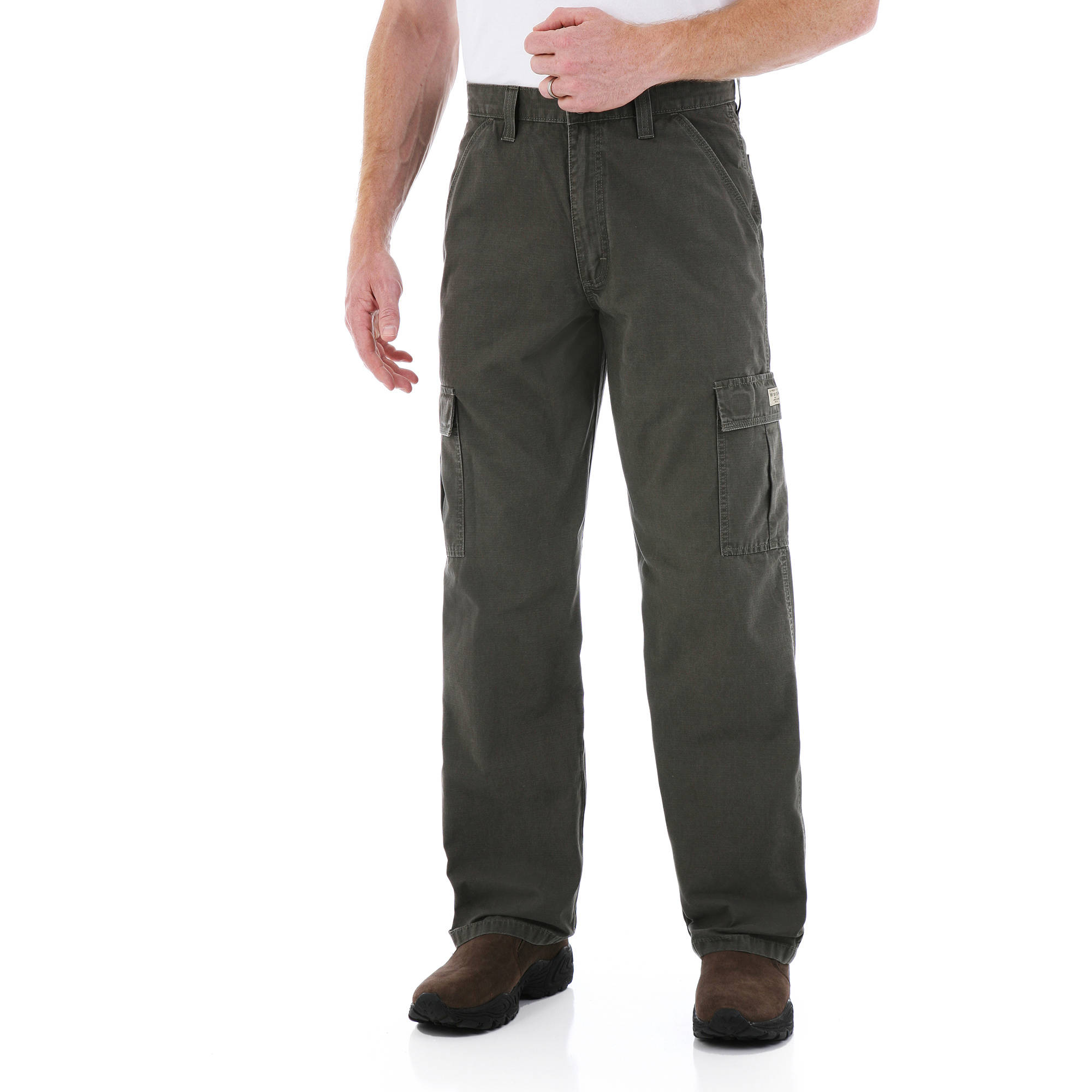 Wrangler Men's Rip-Stop Cargo Pant - Walmart.com