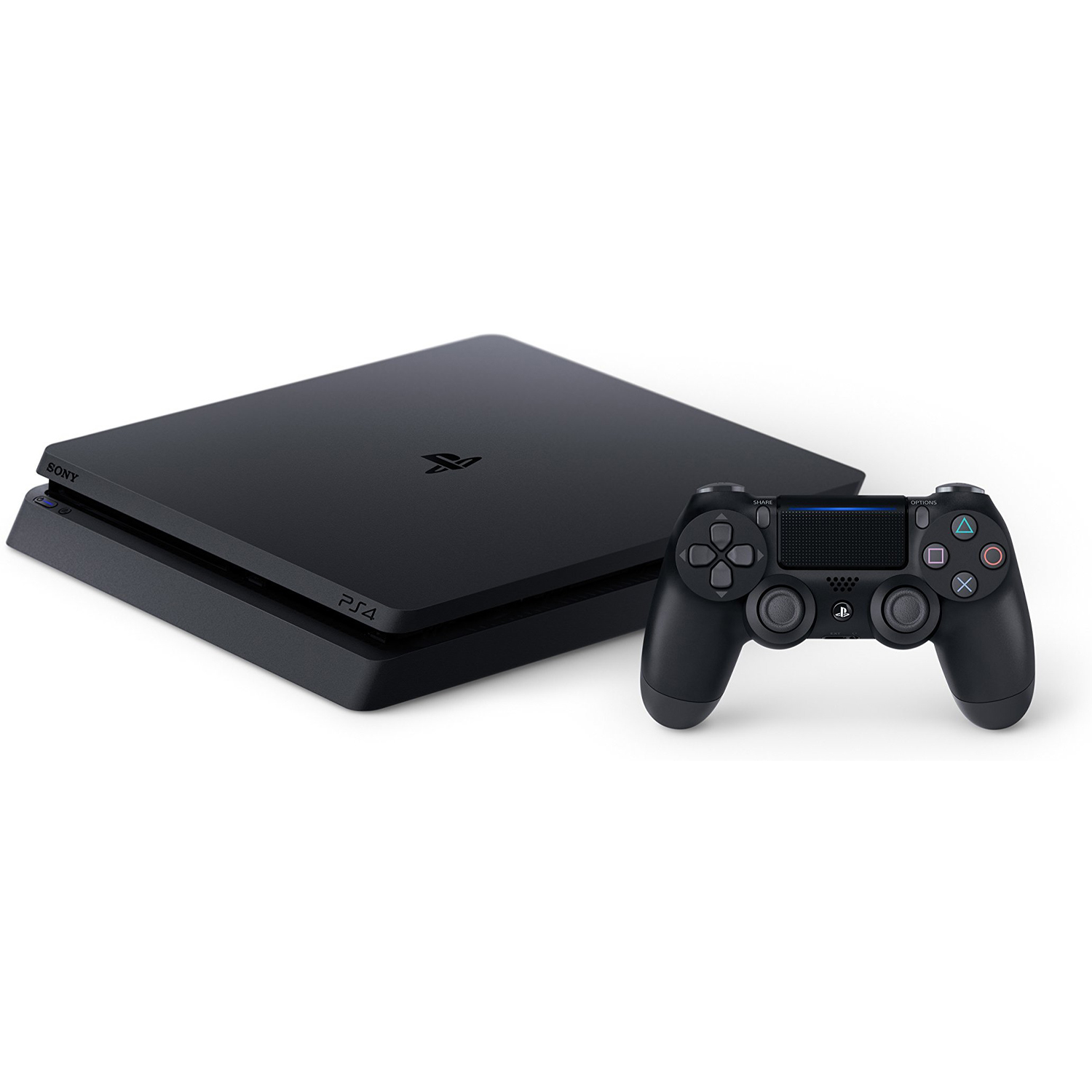 Sony PlayStation 4 Slim 500GB Gaming Console, Black, CUH-2115A by Sony PlayStation