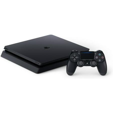 Sony PlayStation 4 Slim 500GB Gaming Console, Black, CUH-2115A