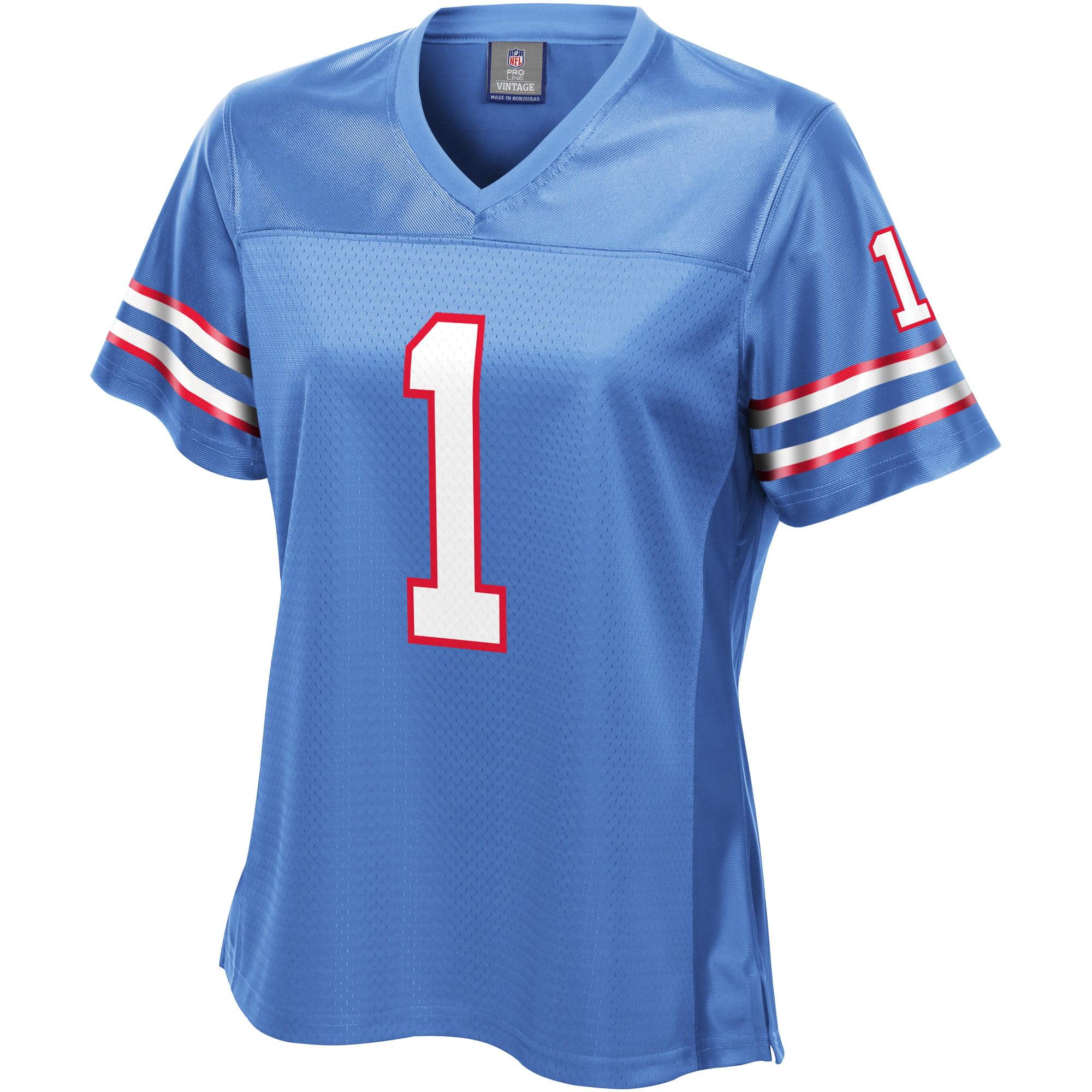 Warren Moon Houston Oilers NFL Pro Line Women's Retired Player Jersey - Light Blue - Walmart.com
