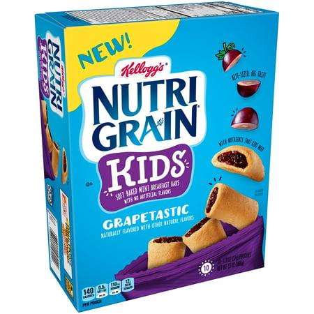 Kellogg's Nutri-Grain Grapetastic Bites Mini Breakfast Bars 13 oz