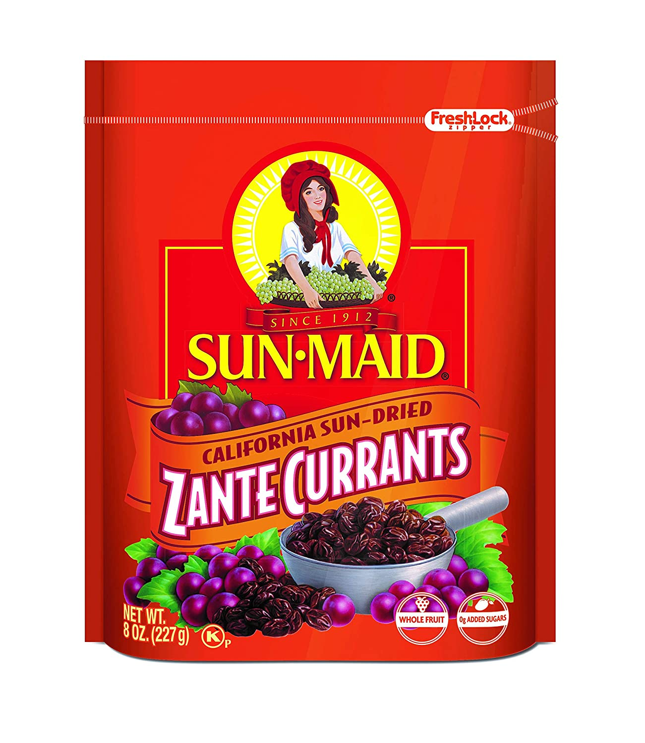 Sun Maid California Zante Currants, 8 oz (Pack of 1 ...