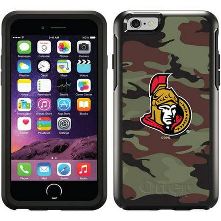 Ottawa Senators Traditional Camo Design on OtterBox Symmetry Series Case  for Apple iPhone 6