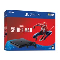 Sony PlayStation 4 1TB Marvel's Spider-Man Console Bundle (Jet Black)