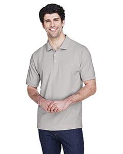 Devon & Jones Men's Pima Piqué Short-Sleeve Polo