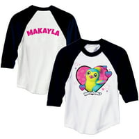 Hatchimals Personalized Girls Youth Pengula Sports Jersey