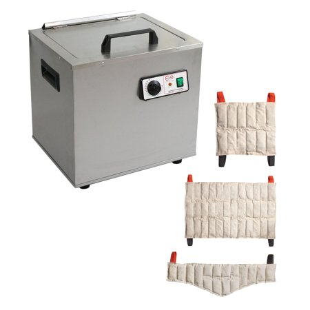 2 Heating Unit (Relief Pak Heating Unit 6 Pack Capacity, Stationary, with 3 Standard, 2 Oversize, 1 Neck,)