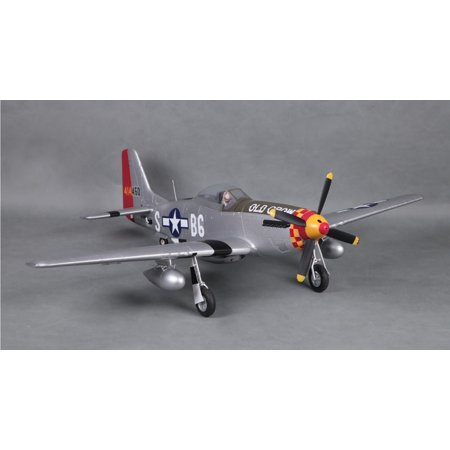 Eleven Hobby P-51D Mustang Old Crow 1100mm 43'' Wingspan PNP
