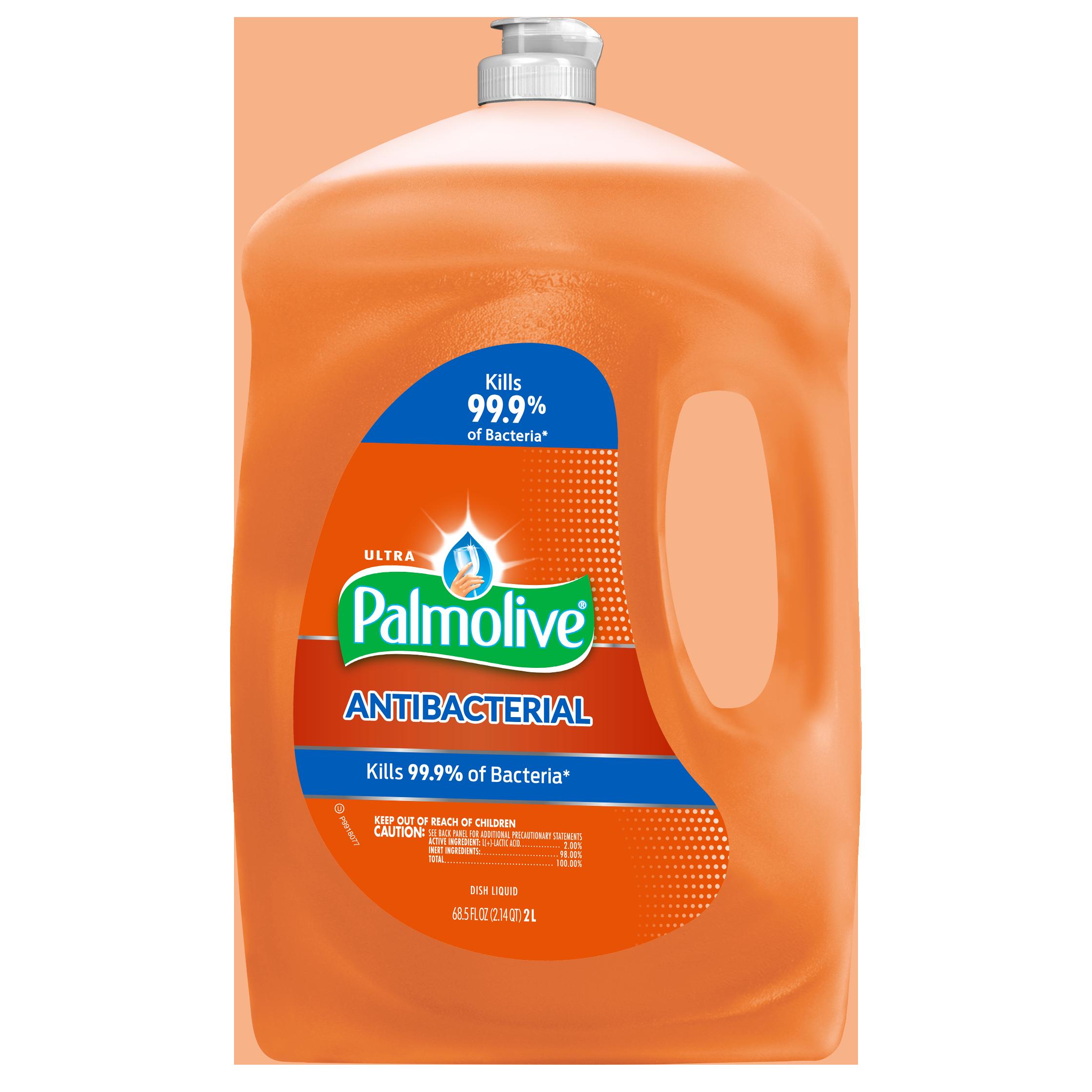 Palmolive Ultra Dishwashing Liquid, Antibacterial Orange, 68.5 Fl Oz