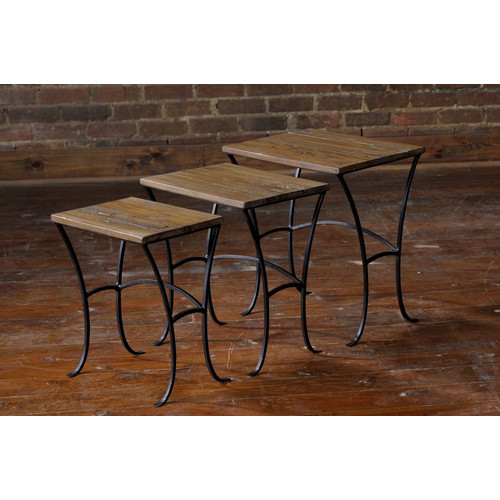 William Sheppee Depot 3 Piece Nesting Tables by William Sheppee