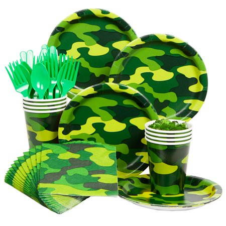 Army Party Standard Kit  Serves 8 Guests - Party Supplies](Army Party)
