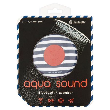 Hype Aqua Sound - Wireless Portable Bluetooth Waterproof Shower Speaker