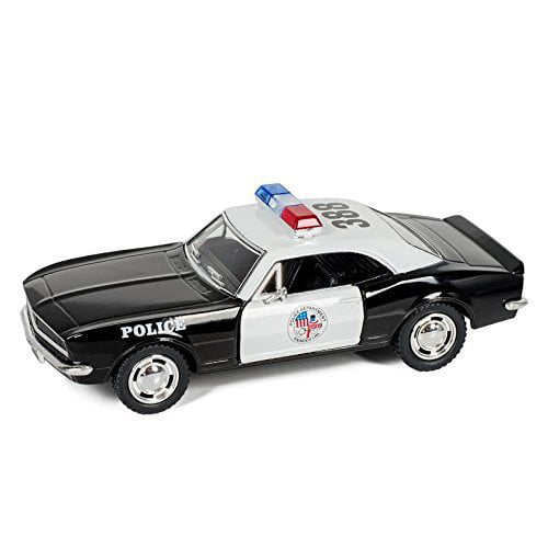 1967 Camero Z-28 Die Cast 5 inch Pull Back Action Police Car Toy, Made of quality die cast metal By Kinsmart... by