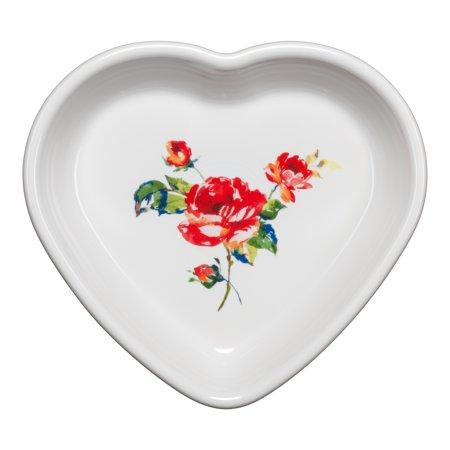 Fiesta®  17oz Medium Heart Bowl - Floral Bouquet](Cheap Fiestaware)