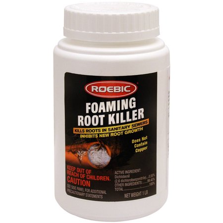 ROEBIC 1LB ROOT KILLER - Foaming Root Killer