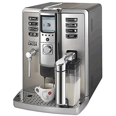 Gaggia Accademia Espresso Machine Metal Frame Stainless Steel Front Panel Brand New Kitchen Product by