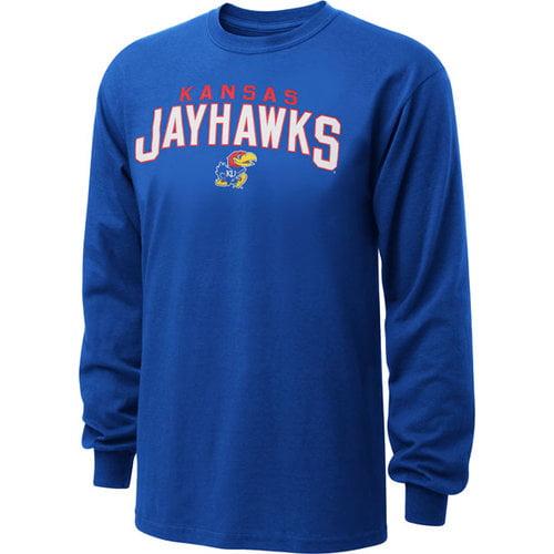 NCAA - Kansas Jayhawks Royal Just Gateway Long Sleeve T-Shirt