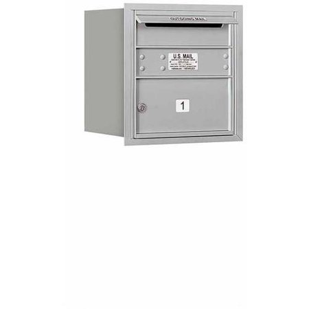 Salsbury Industries 4C Horizontal Mailbox 4-Door High Unit (16.5