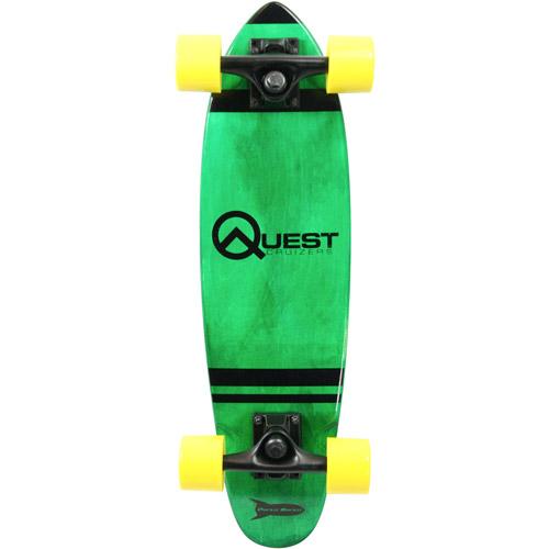 "Quest Rockit Pockit 24"" Cruizer Board, Green"