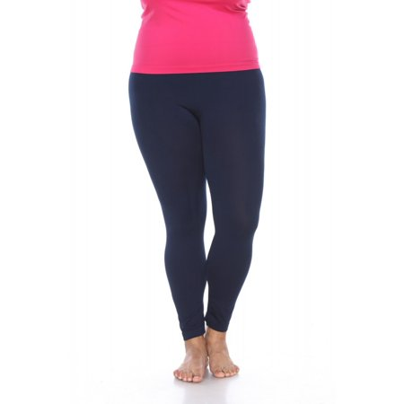 8c3d4cd5819 White Mark - Women s Plus Size Super-Stretch Solid Leggings - Walmart.com