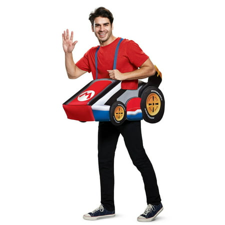 Super Mario Bros. Mario Kart Adult Halloween Costume