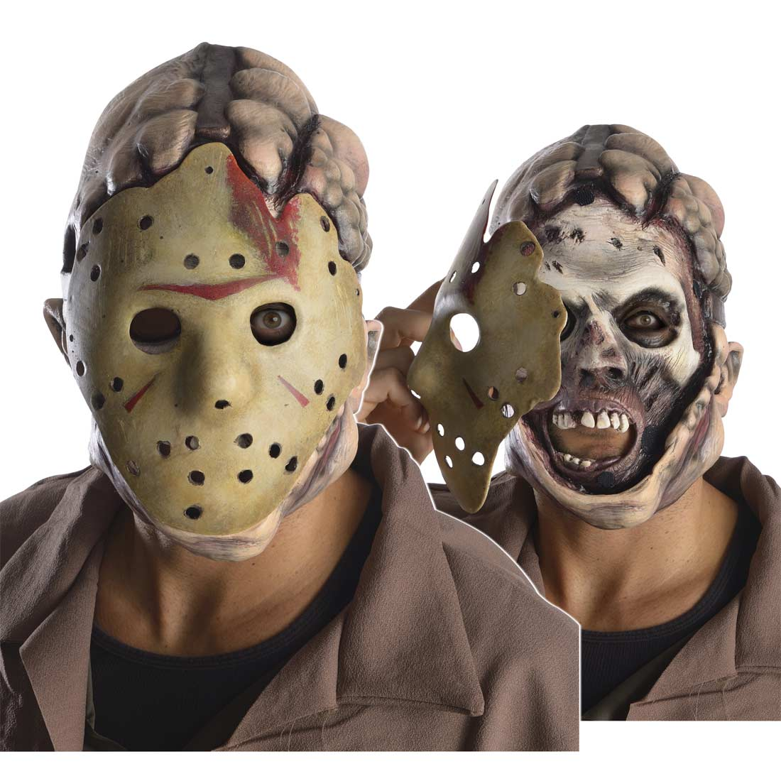 Friday The 13Th Jason Double Adult Mask